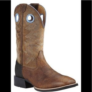 Ariat Heritage Rough Stock Cowboy Boots